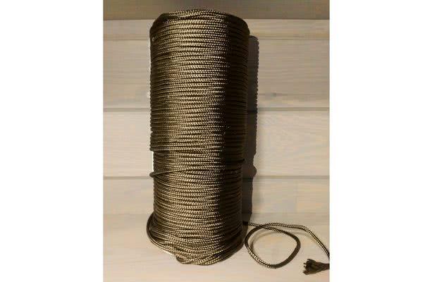 1122Базальтовый шнур, уплотнительный, термостойкий
