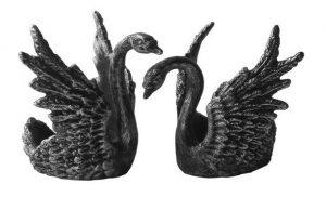 Слайд #1 | Подсвечник «Лебединая верность»