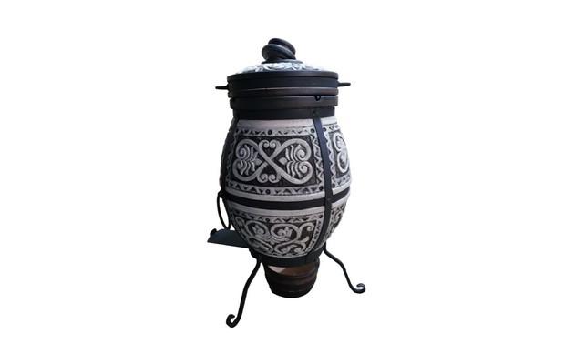 Тандыр «Новый» резной Теза-Керамика