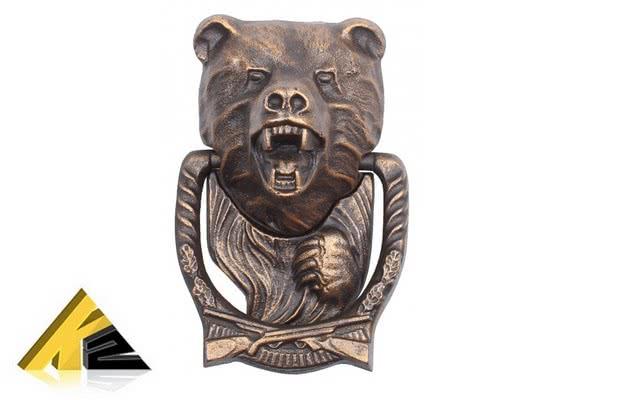 Дверной молоток «Медведь» RLK 539