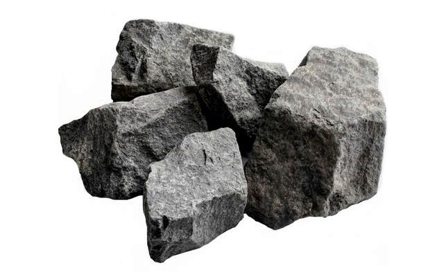 Камень для бани габбро-диабаз колотый