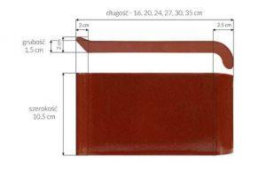Слайд #2 | Керамический клинкерный отлив ZCB Каштан 16 см