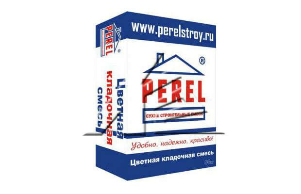 7635Цветная кладочная смесь Perel VL Красный