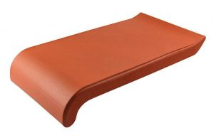 Слайд #1 | Керамический клинкерный отлив ZCB Красный 16 см