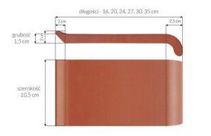 Слайд #2 | Керамический клинкерный отлив ZCB Красный 16 см