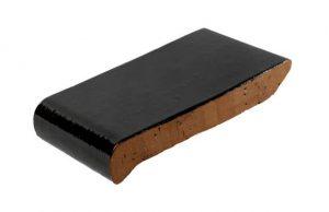 Слайд #1 | Керамический подоконник (отлив) Golowczynski Темно-коричневый 28 см