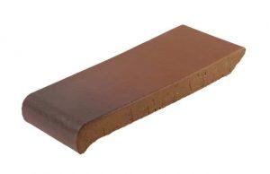 Слайд #3 | Керамический подоконник (отлив) Golowczynski Каштан 18 см
