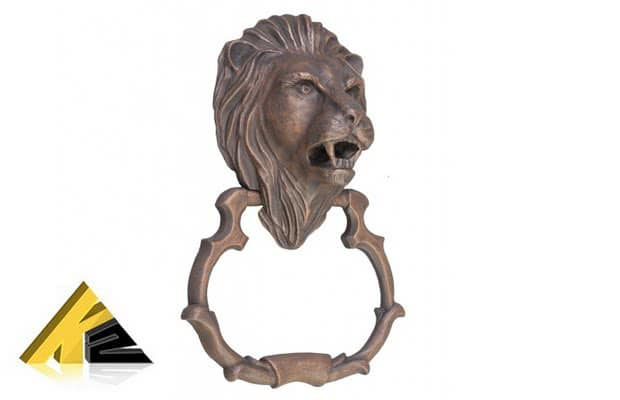 Дверная ручка «Лев»