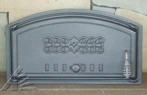 Слайд #2 | Дверка топочная DCH1, DCH1T с термометром