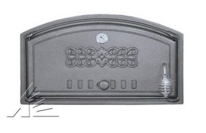 Слайд #1 | Дверка топочная DCH1, DCH1T с термометром