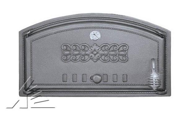 Дверка топочная DCH1, DCH1T с термометром