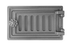 Слайд #1 | Дверка поддувальная ДП-2 Везувий Антрацит