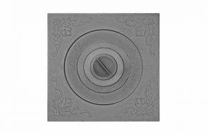 Слайд #1   Плита с одним отверстием для конфорок под казан 6-12л. П1-5А
