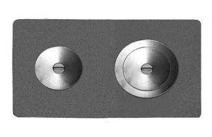 Слайд #1 | Плита цельная с двумя отверстиями для конфорок П2-3А (пр-во ООО Печной дом г.Барнаул)