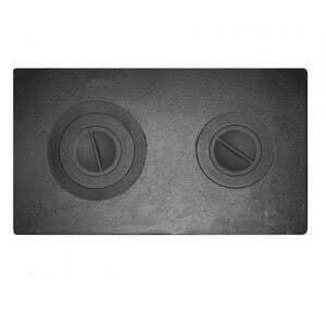 Плита цельная с двумя отверстиями для конфорок П2-3 II сорт