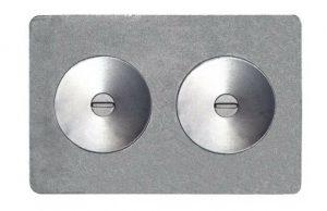 Слайд #1 | Плита с двумя отверстиями для конфорок П2-7А