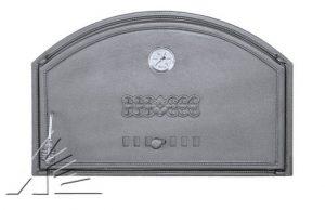 Слайд #1 | Дверка топочная DCHD1T, DCHD2T с термометром