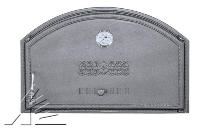 Дверка топочная DCHD1T, DCHD2T с термометром