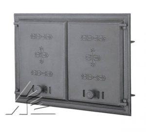 Слайд #1 | Дверка топочная DCHP1, DCHP2 с термометром