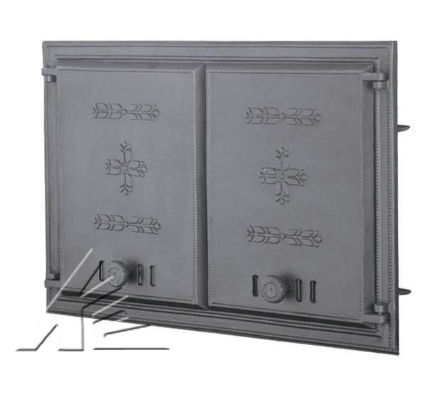 Дверка топочная DCHP1, DCHP2 с термометром