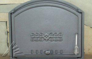Слайд #4   Дверка топочная DCHS1, DCHS1T с термометром