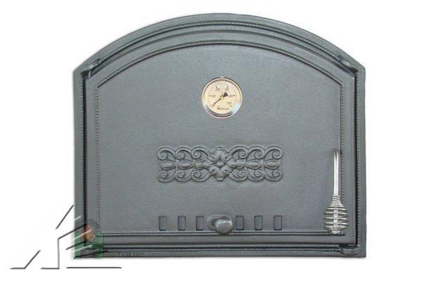 Дверка топочная DCHS1, DCHS1T с термометром