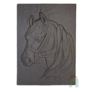 Плита для камина (задняя стенка) «Лошадь»