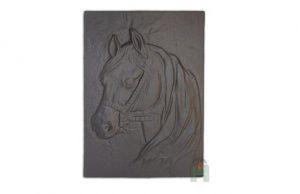 Слайд #1 | Плита для камина (задняя стенка) «Лошадь»