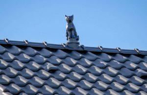 Слайд #2 | Статуя «Кот объемный»
