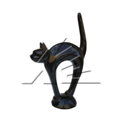 Статуя «Кот в стойке»