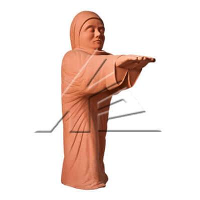 Статуя «Лунатик однотонный»