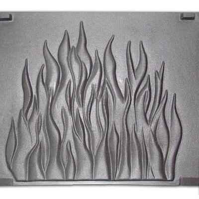 Плита для камина (задняя стенка) «Пламя»