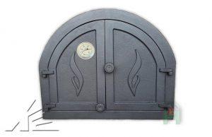 Слайд #4   Дверка топочная Panama 1, Panama 2 с термометром