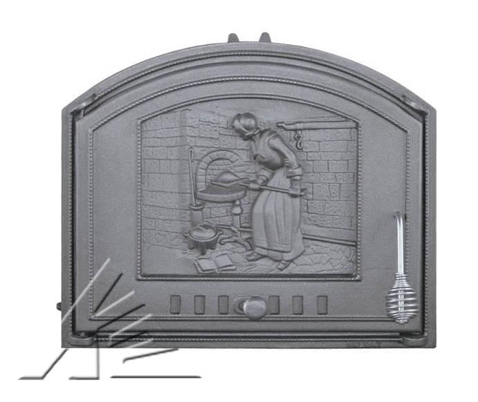 Дверка топочная DCHS1, DCHS2 Piekarka