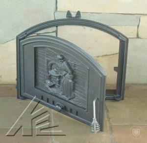 Слайд #3 | Дверка топочная DCHS1, DCHS2 Piekarka