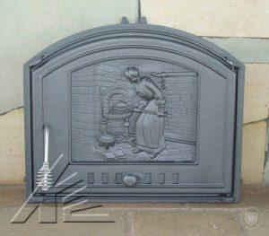 Слайд #5 | Дверка топочная DCHS1, DCHS2 Piekarka