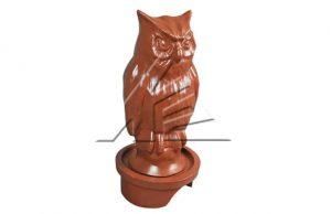 Слайд #1 | Статуя «Сова объемная»