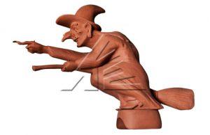 Слайд #1 | Статуя «Ведьма»