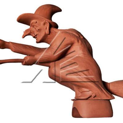 Статуя «Ведьма»