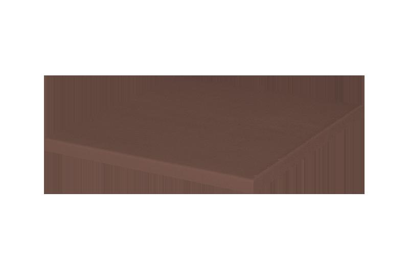Напольная плитка коричневый
