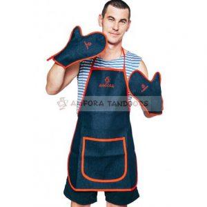 Слайд #1 | Набор «Тандыр-МАN!!!» (фартук, 2 рукавицы)
