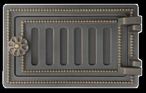 Слайд #1 | Дверка поддувальная ДП-2 Везувий Бронза