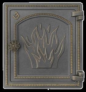 Слайд #1 | Дверка Везувий ДТ-4 Бронза