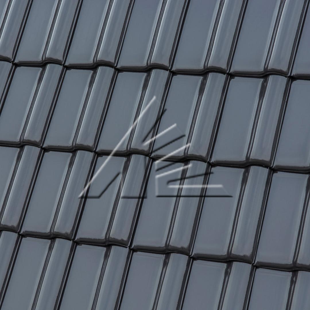 8655Керамическая черепица MONZAplus графитовый