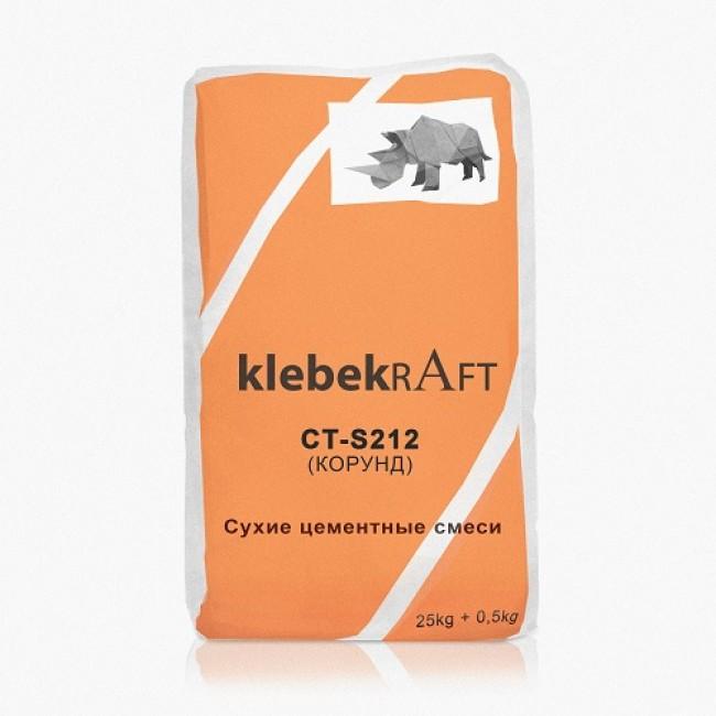 8745Упрочнитель бетона корундовый KLEBEKRAFT CT-S212